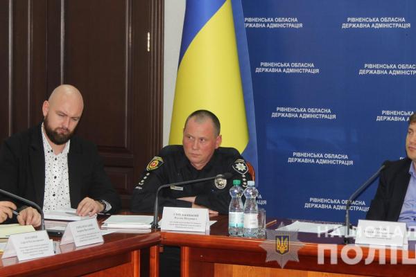 Аварійність на дорогах Рівненщини обговорили у поліції