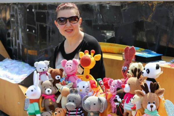 Медсестра з рівненської поліклініки створює унікальних ляльок (Фото)