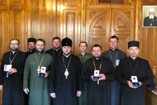 Капеланів з Рівненщини нагородили медалями