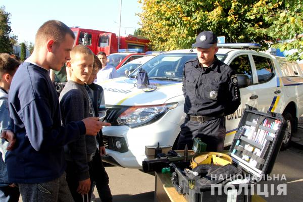 Поліцейські святкували День Млинова