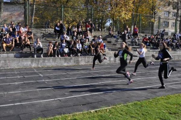 У Рівному відбулися змагання з легкої атлетики