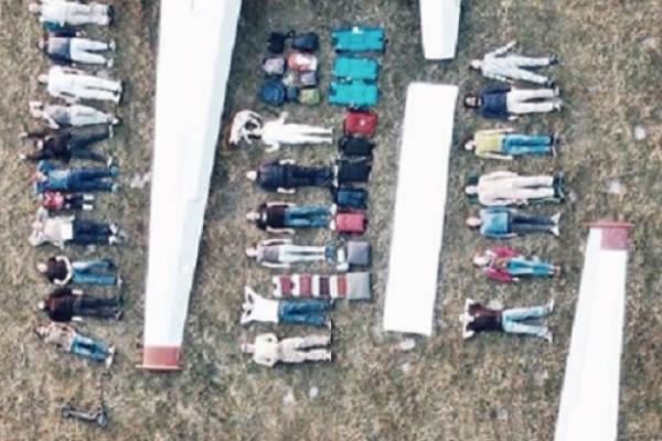 Воронівські авіатори долучилися до всесвітнього Тетріс-челенджу