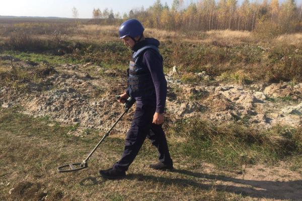 На Рівненщині знищили реактивну міну