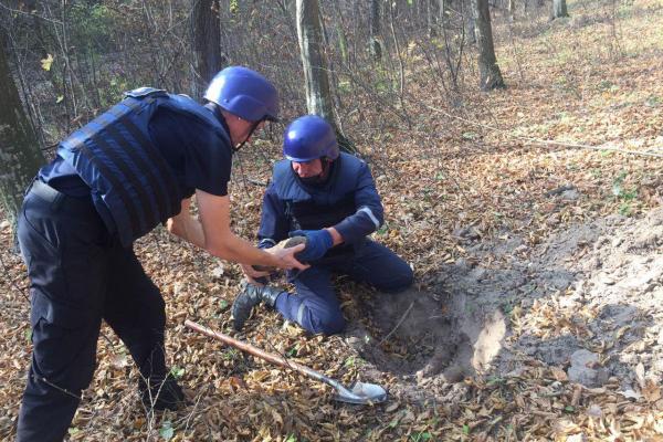 На Рівненщині ліквідували боєприпаси (Фото)