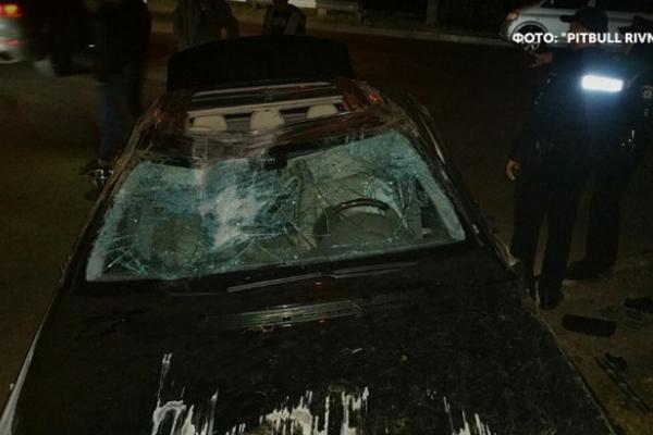 На вулиці Басівкутській, що у Рівному, ДТП за участі водія напідпитку (Фото)
