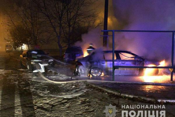 У Рівному тривають підпали автівок (Фото)