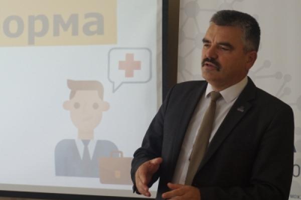 У Рівненському ЦРМС обговорили управління медициною в ОТГ