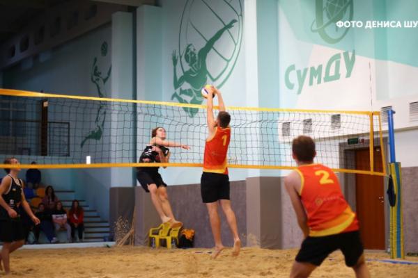 Рівненські волейболісти-близнюки взяли участь у змаганні в Сумах