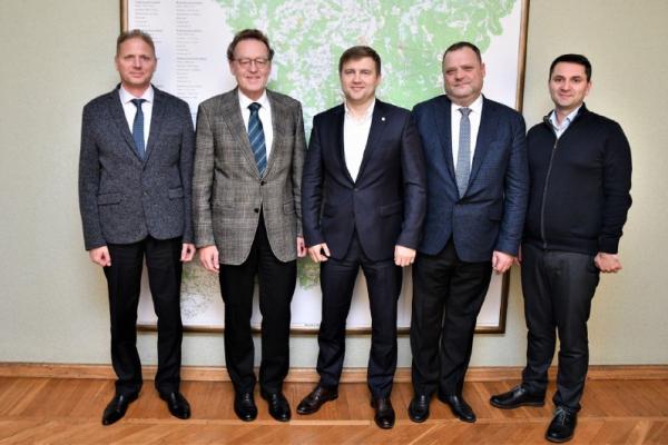 Голова Рівненської ОДА зустрівся з генеральним уповноваженим німецької компанії Basalt AG