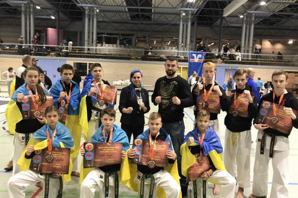 Рівненські каратисти перемогли на Чемпіонаті Світу