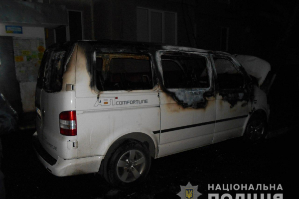На Рівненщині знову горіла автівка (Фото)