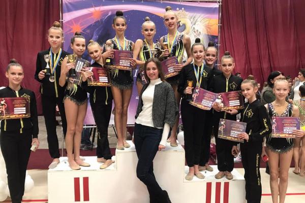 Рівненські гімнастки знову з перемогами