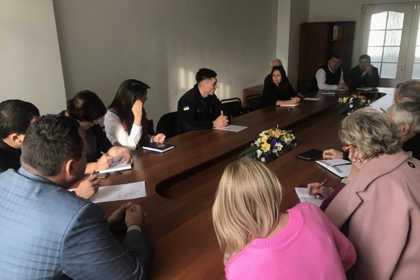 Рівненські рятувальники взяли участь у нараді Управління охорони здоров'я