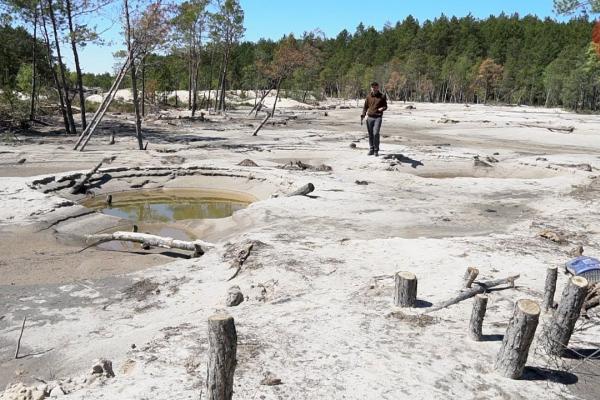 Рівненщина: у селі Великі Цепцевичі втопився чоловік, який добував бурштин