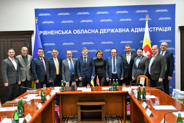 Турецькі інвестори зацікавилися інвестиційними проєктами Рівненської області