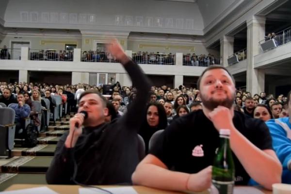 У Рівному відбувся 5 сезон Західної Ліги Сміху (Відео)
