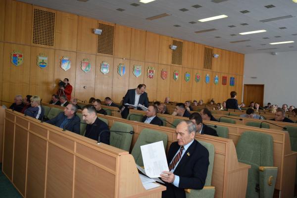 У Рівному відбулося друге пленарне засідання 29-ї сесії обласної ради