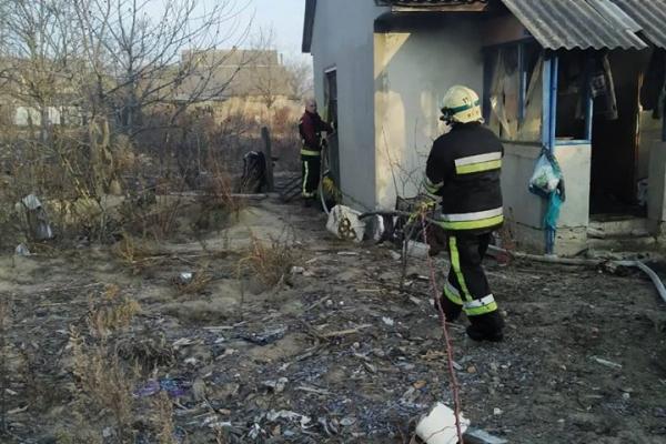 Житель Володимирецького району згорів у власній оселі