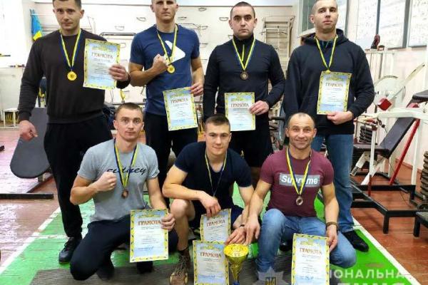 Команда ГУНП в Рівненській області здобула «золото»