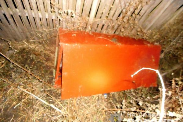 На Рівненщині викрали сейф з рушницею (Фото)