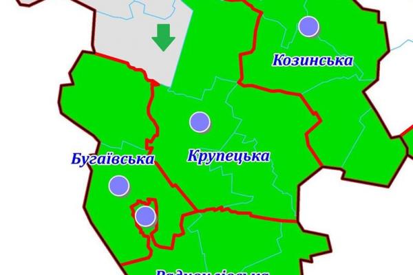Рівненщина: Радивилівський район весь покритий ОТГ