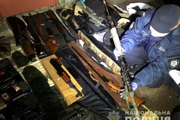 На Рівненщині було вилучено понад 10200 одиниць зброї та боєприпасів
