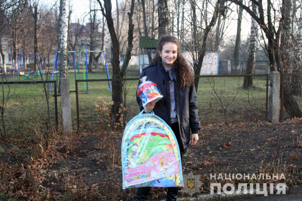 Рівненські поліцейські відвідали дітей із вадами розвитку
