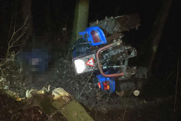 На Здолбунівщині загинув тракторист
