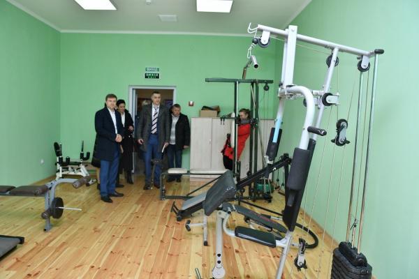 У Сарнах реконструювали клуб для спортсменів з інвалідністю