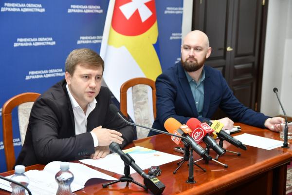 Голова Рівненської ОДА Віталій Коваль прозвітував за перших 100 днів на посаді