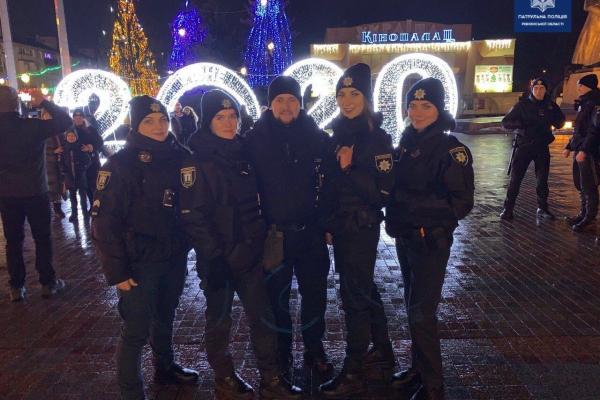 Якою була новорічна ніч длярівненських патрульних?