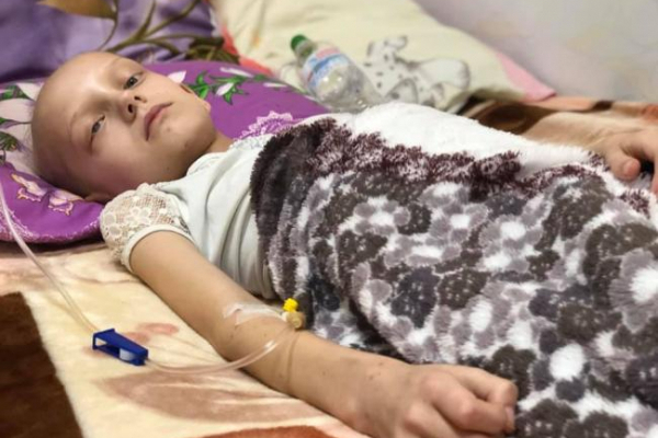 Онкохворій дівчинці потрібна допомога