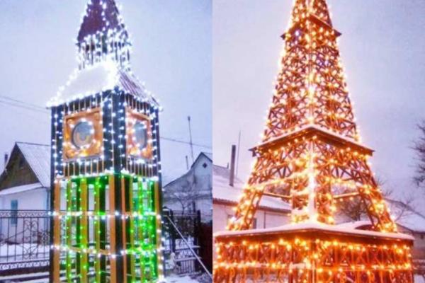 Ейфелева вежа та Біг-Бен: на Рівненщині з'явилися популярні «туристичні об'єкти» (Фото)