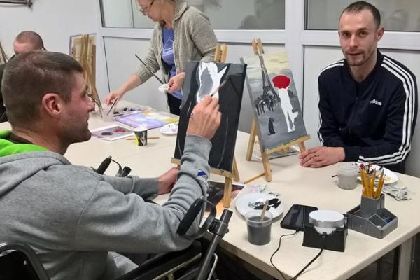 Творчість ветеранів АТО/ООС презентують на Рівненщині