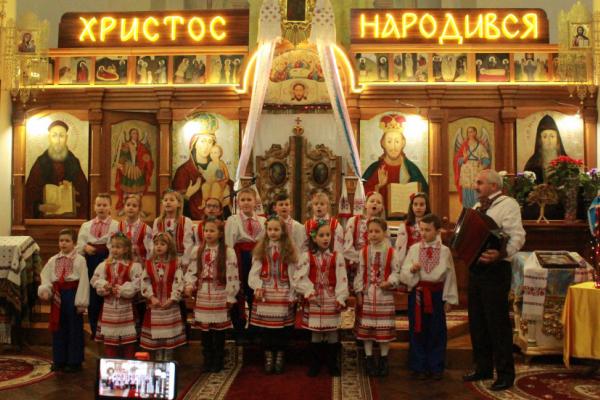 Фестиваль Різдвяних піснеспівів відбувся на Острожчині