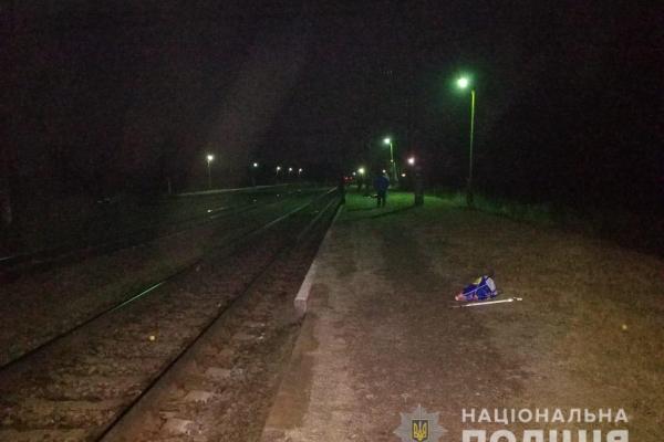 На Острожчині людина потрапила під потяг