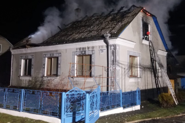 Родина з села Рачин Дубенського району потребує допомоги після пожежі
