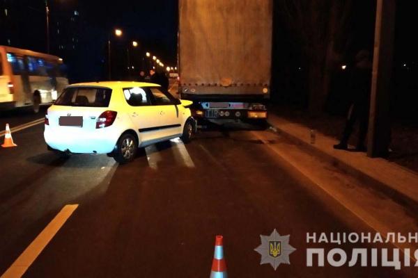 На вулиці Макарова у Рівному сталася ДТП, є постраждалі (фото)