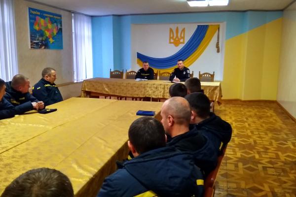 Рятувальники Рівненської АЕС зустрілися з Національною поліцією