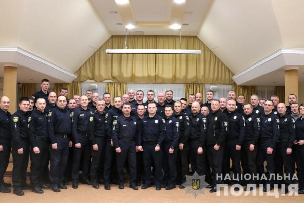 Керівництво Національної поліції відзначило роботу рівненських правоохоронців