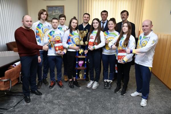 Рівненські школярі – чемпіони світу перших ISF World Cool Games