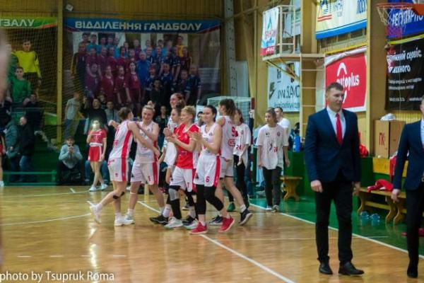 Жіноча команда БК Рівне перемогла бердянську Чайку в фіналі Кубка України з баскетболу