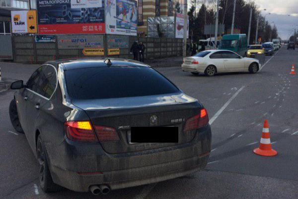 На вулиці Курчатова у Рівному ДТП