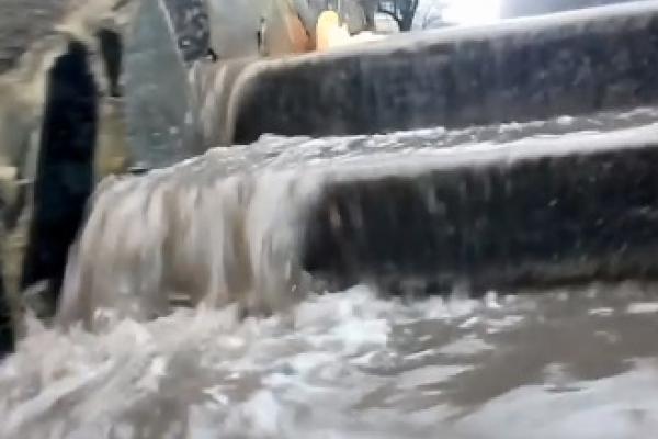 У лютому Рівне «попливло» (ВІДЕО)