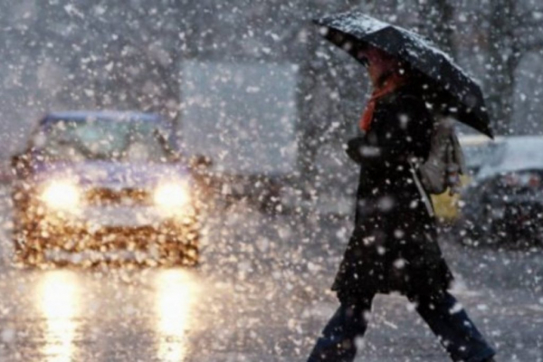 На території Рівненської області синоптики прогнозують дощ зі снігом