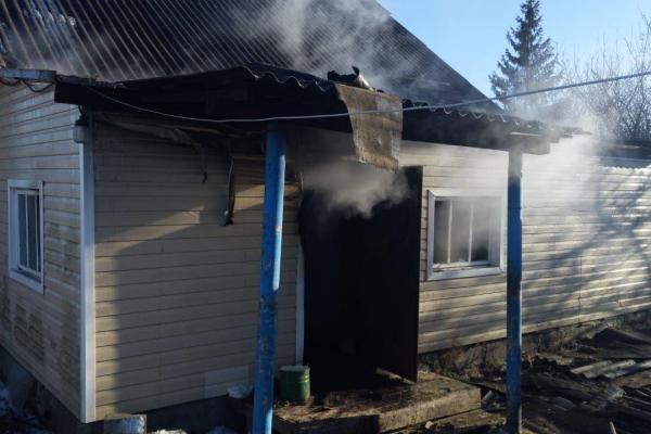 На Рокитнівщині під час пожежі загинув чоловік