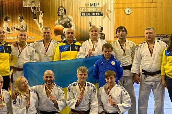 Дзюдоїсти Рівненщини вибороли вісім медалей час змагань у Німеччині