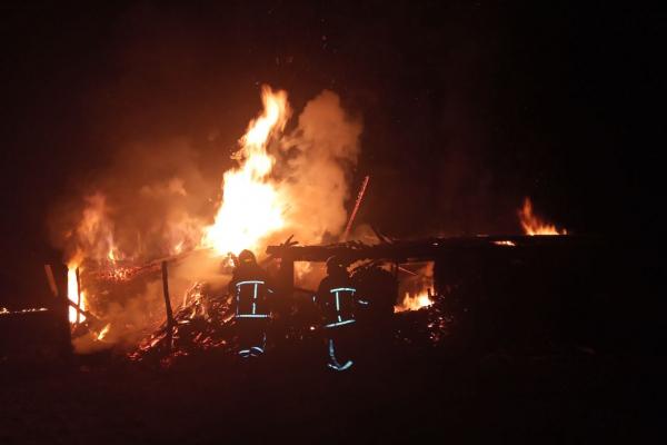 На Зарічненщині вогнеборці ліквідували пожежу