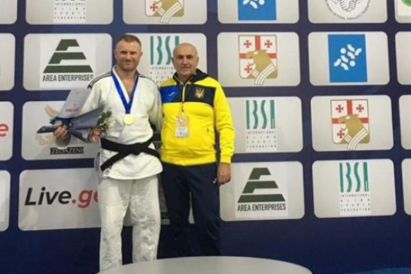 Рівненський спортсмен з вадами зору здобув золото під час змагань у Грузії