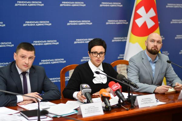 На Рівненщині у 2020 році профінансують 13 об'єктів: перелік